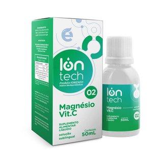 Iontech 2 - Magnésio + Vit C (Manutenção do sistema respiratório, auxílio em casos de asma) - Ekobé