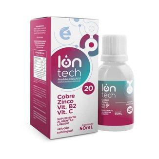 Iontech 20 - Cromo + Zinco + Vitaminas (Anti-envelhecimento, anti-radicais livres) - Ekobé