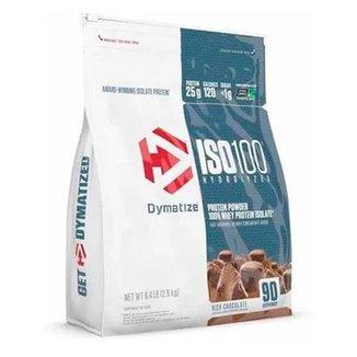 Iso 100 6Lbs Dymatize - Compre e Ganhe Creatina Optmium Nutrition 150g - Rich Chocolate