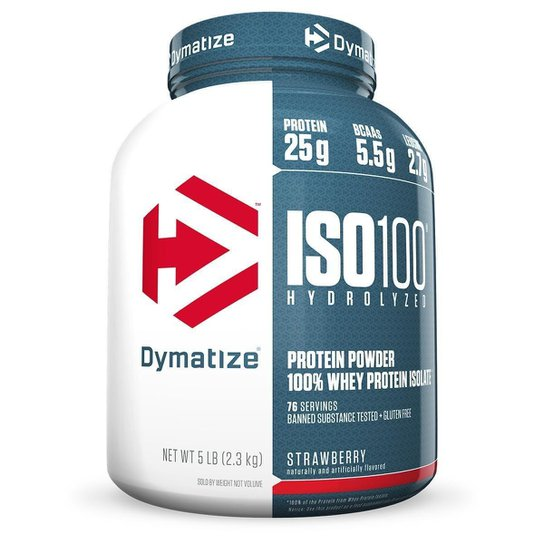 ISO 100 Whey Zero Carb 5 Lbs - Dymatize Nutrition -