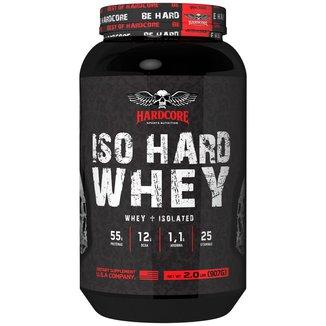 Iso Hard Whey 907g - Isolado Baunilha - Hardcore Sports Nutrition