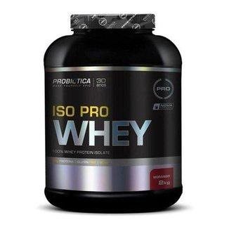 Iso Pro Whey 2kg - Probiótica Sabor Morango