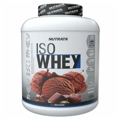 Iso Whey - 1800g Chocolate - Nutrata - Unissex