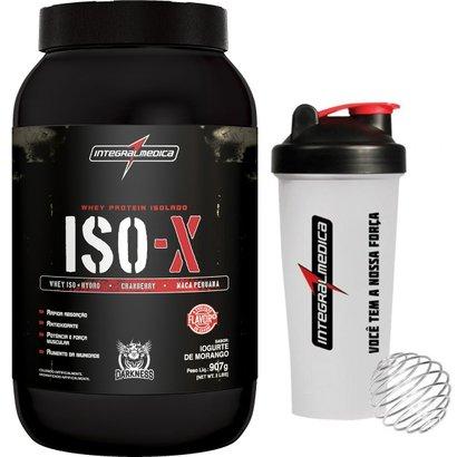ISO-X 907 g Darkness + Coqueteleira - IntegralMédica