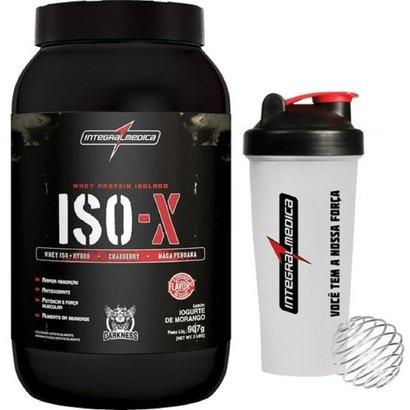 ISO-X 907 g Darkness + Coqueteleira – IntegralMédica