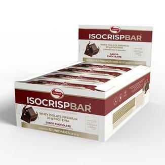 ISOCRISP BAR CHOCOLATE 12 UNIDADES DE 55g