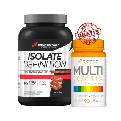 Isolate Definition 900g + Multi Complex - Body Action