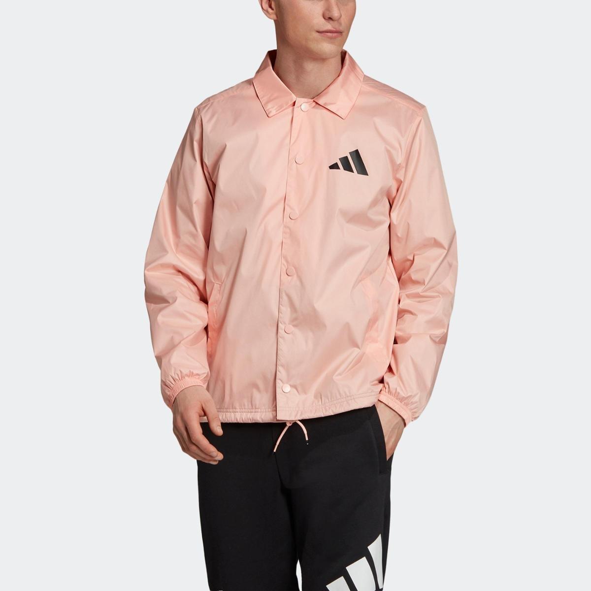 jaqueta adidas rosa