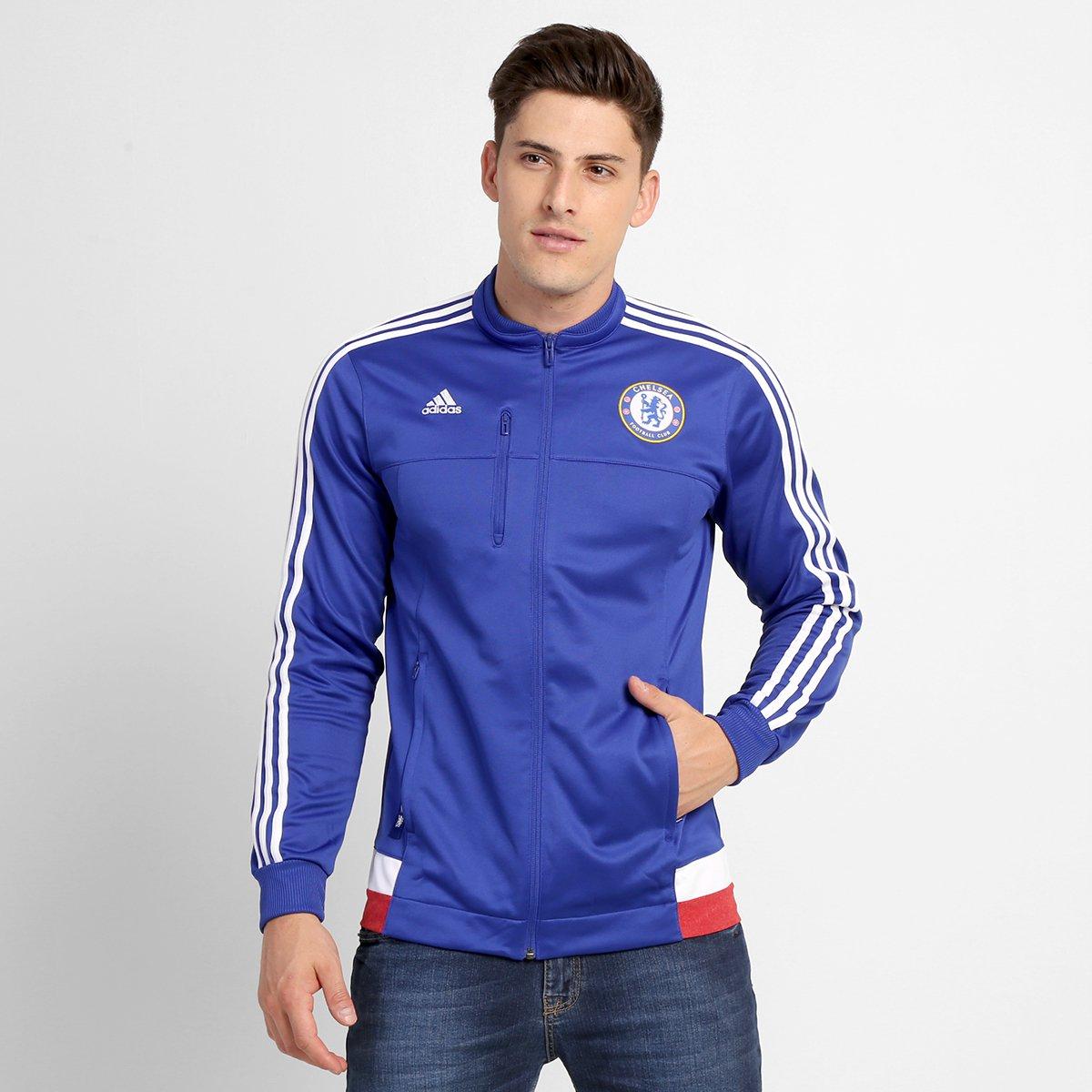 f47a0aba6d Jaqueta Adidas Chelsea Hino - Compre Agora