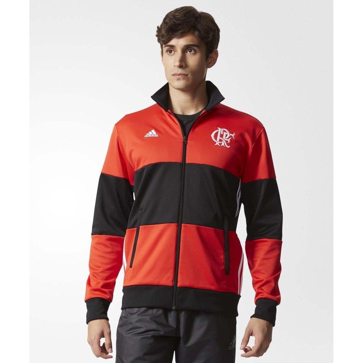 cf5f592e5a6f8 Jaqueta Adidas Flamengo 3S 2016 - Compre Agora
