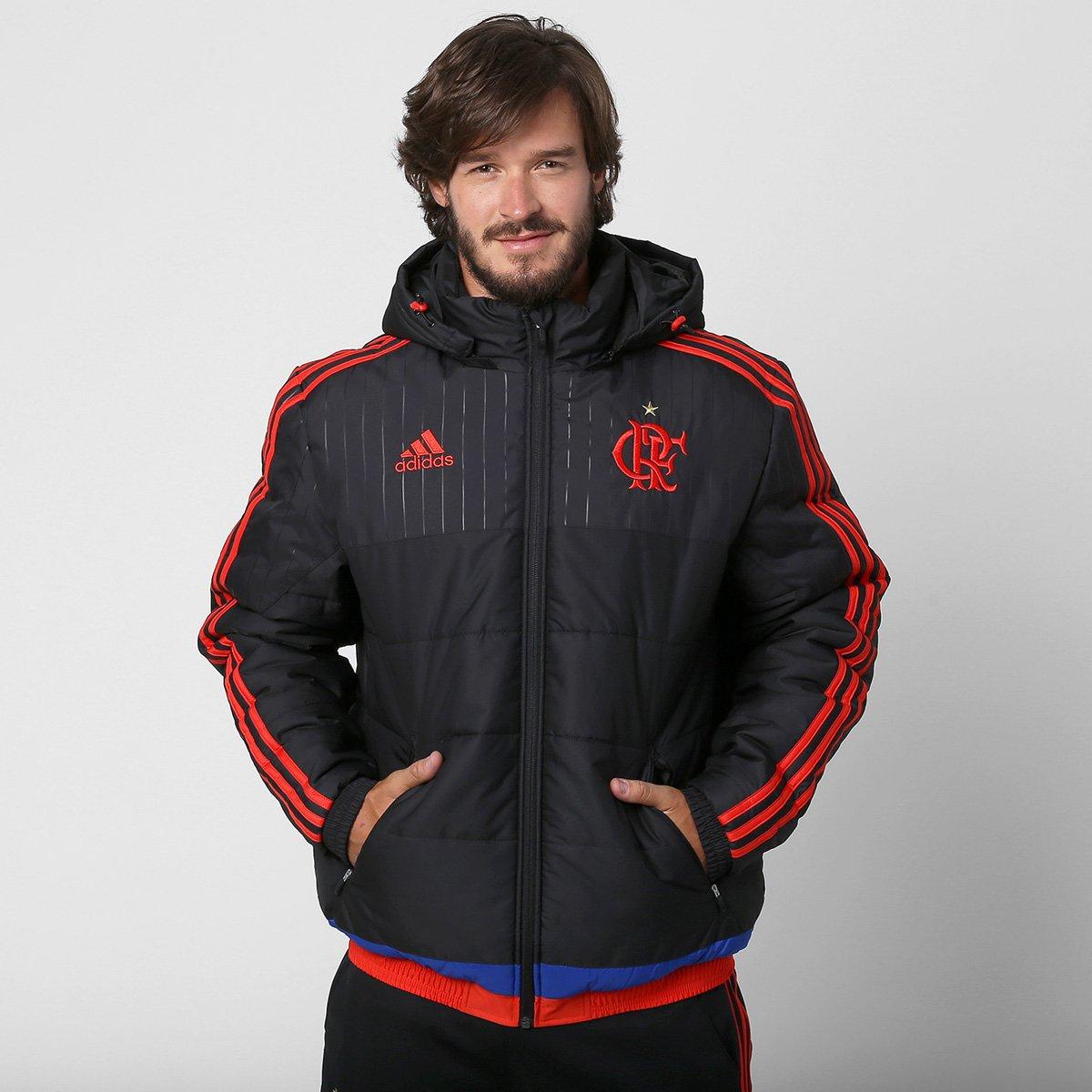 37cfd95975 Jaqueta Adidas Flamengo c  Capuz - Compre Agora