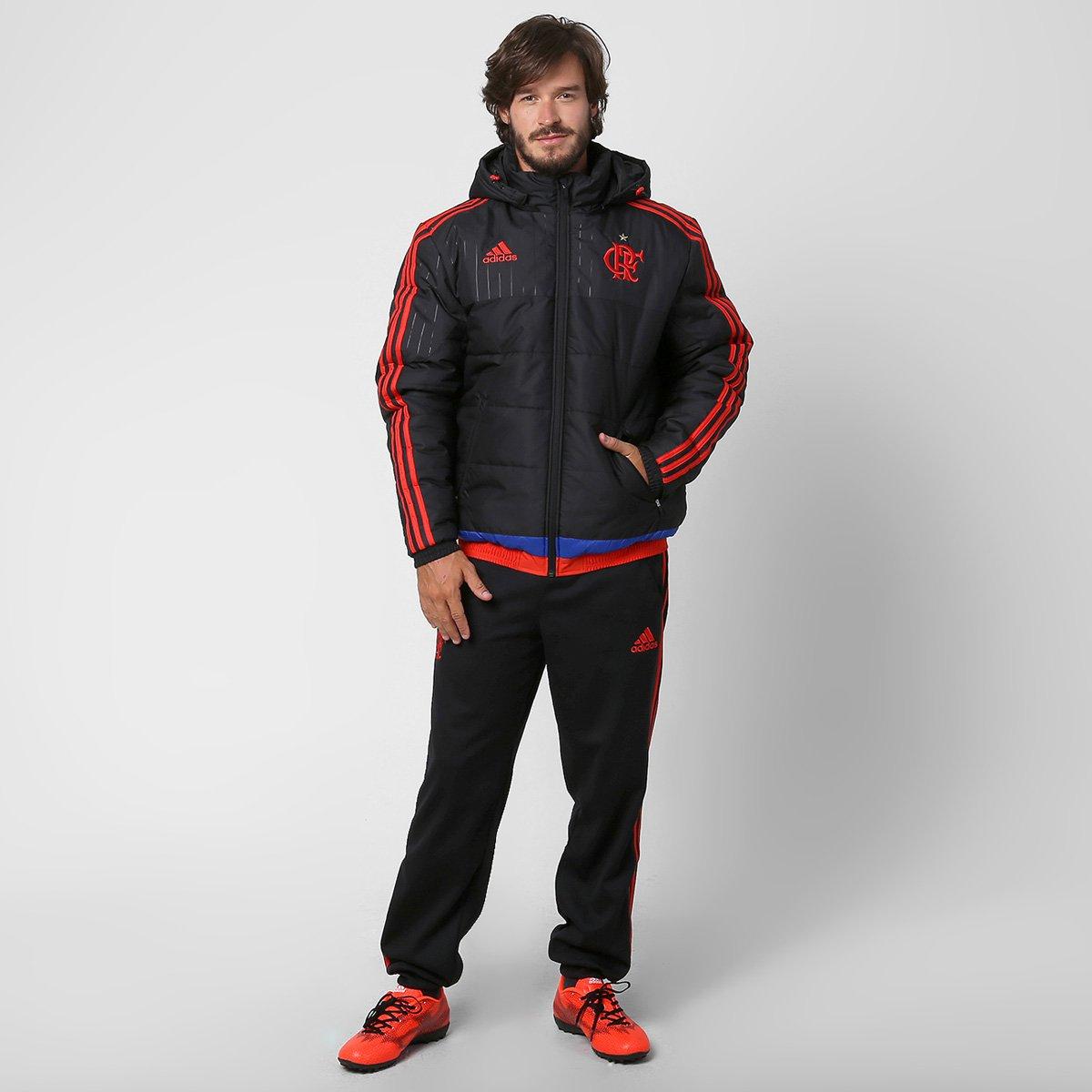 2b6183f9e8 Jaqueta Adidas Flamengo c  Capuz - Compre Agora