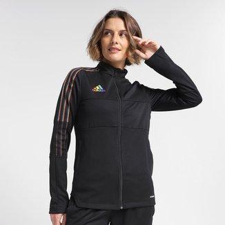 Jaqueta Adidas LGBT Tiro Feminina