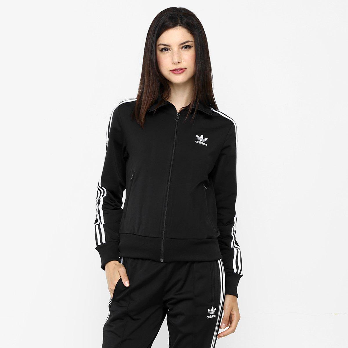 0a765f5ce7c Jaqueta Adidas Originals Firebird TT Grün - Compre Agora