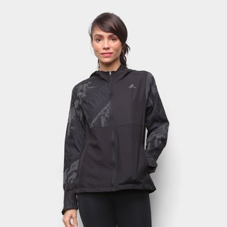 Jaqueta Adidas Own The Run Graphic Feminina