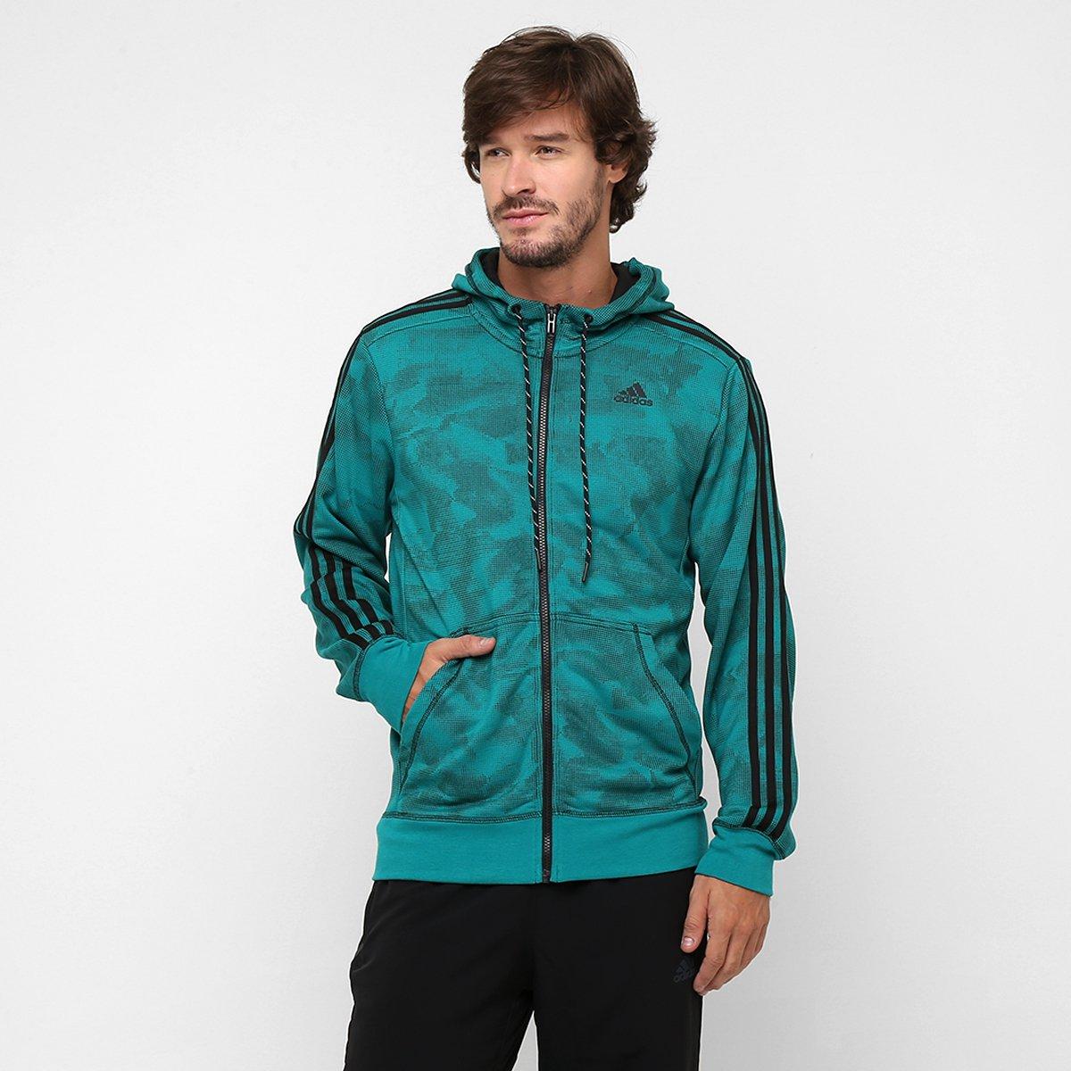 Paperprint Adidas Verde Água Jaqueta Hood QBrxEedCoW
