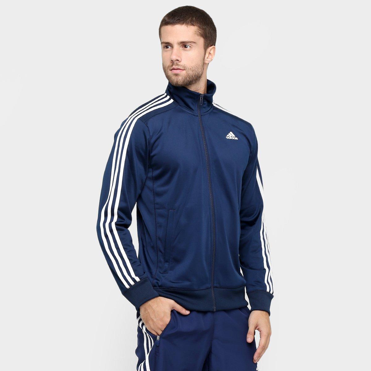 f4f9d6f923 Jaqueta Adidas PES Essentials 3S Masculino - Compre Agora