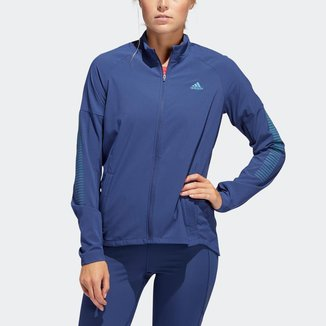 Jaqueta Adidas Rise Up N Run Tech Indigo Feminina