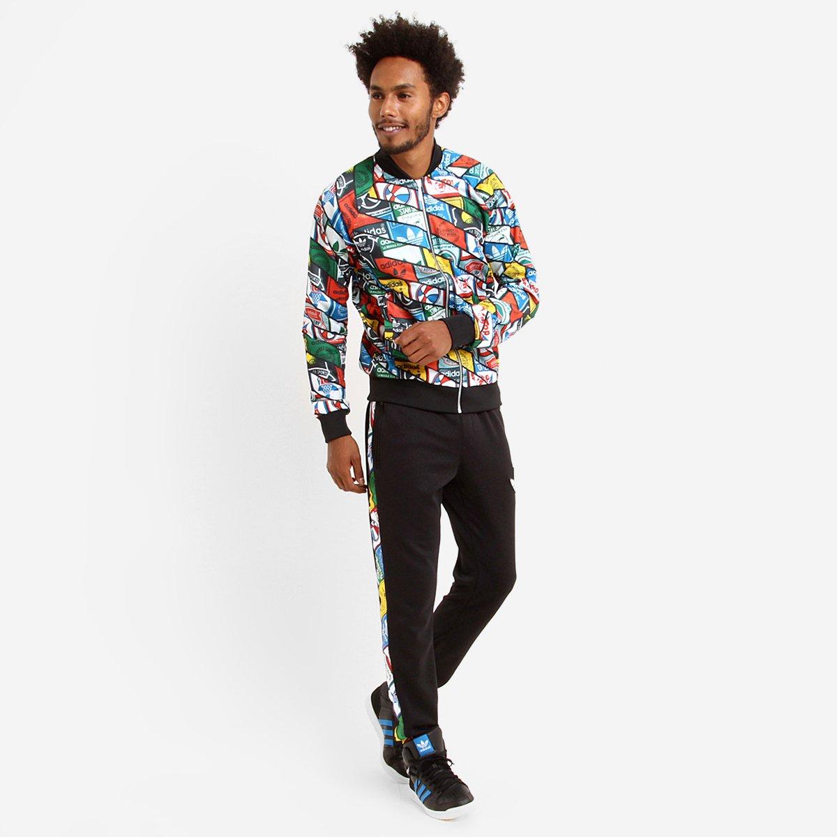 Jaqueta Adidas Sst Tongue - Compre Agora  95bd6b0d4a359
