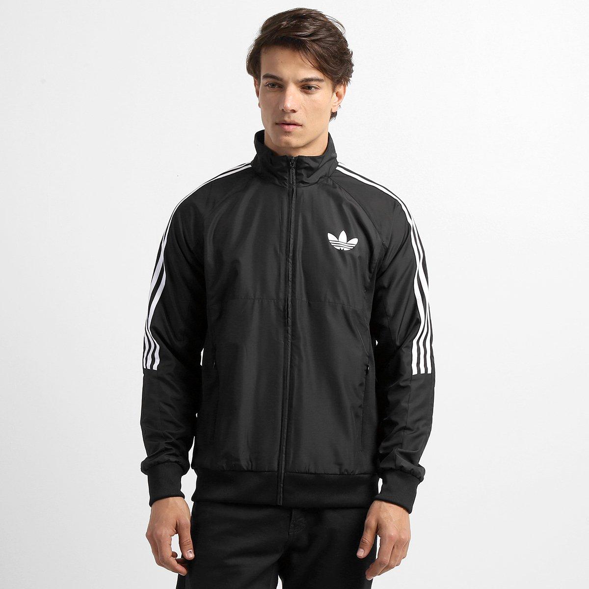 10bbb7a383 jaqueta adidas verde e preta