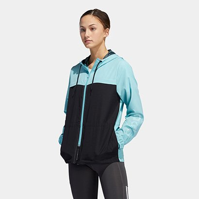 Jaqueta Adidas Wb Prime Blue Feminina