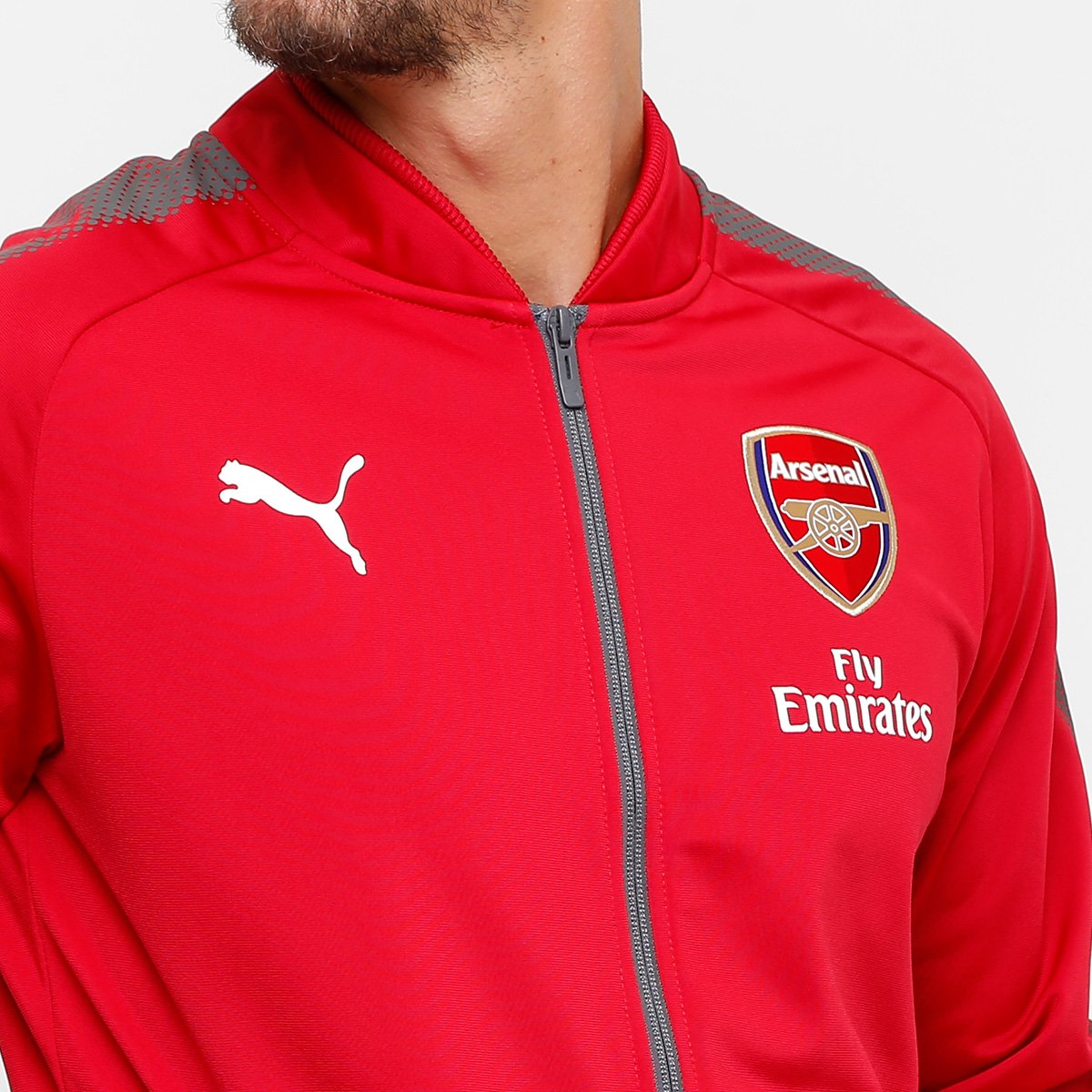 Jaqueta Arsenal Puma Stadium Masculina - Compre Agora  65e31b79a5628