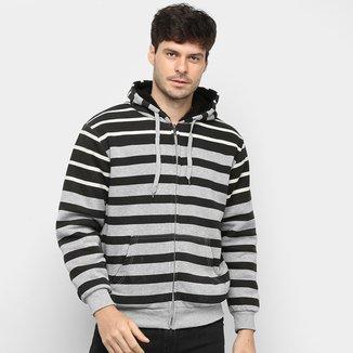 Jaqueta Athletic Jacket Listrada Masculina