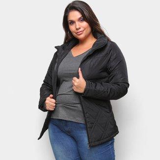 Jaqueta Belina Plus Size Nylon Feminina