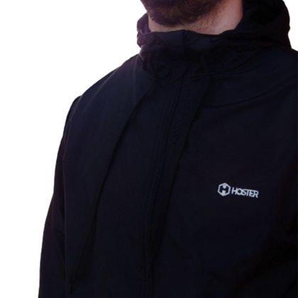 Jaqueta Blusa De Frio Quebra Vento 100% Forrado Corta Vento com Bolso Interno e Capuz