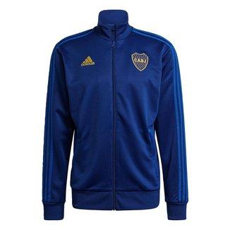 Jaqueta Boca Juniors 3-Stripes Adidas