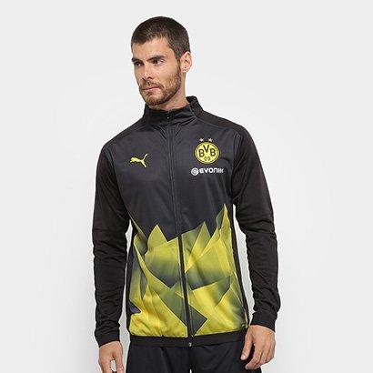 Jaqueta Borussia Dortmund Stadium Puma Masculina