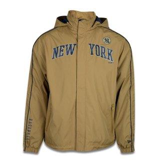 JAQUETA CORTA VENTO (WINDBREAKER) MLB NEW YORK YANKEES COLLEGE NEY YORK AMARELO NEW ERA