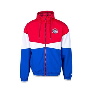 JAQUETA CORTA VENTO (WINDBREAKER) NBA LOS ANGELES CLIPPERS COLLEGE BLOCKED NEW ERA