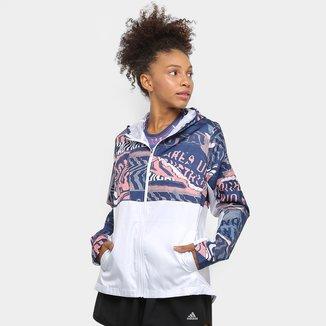 Jaqueta Corta Vento Adidas Own The Run Feminina