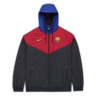 Jaqueta Corta Vento Barcelona Nike Masculina