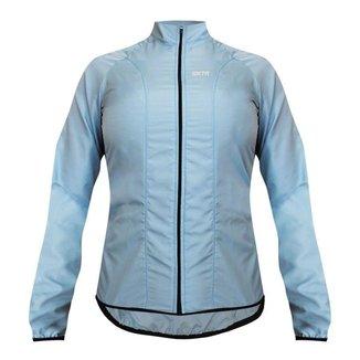 Jaqueta corta vento ciclismo feminina SportXtreme Comfort