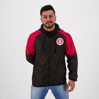 Jaqueta Corta-Vento Internacional Capuz Masculina