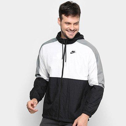Jaqueta Corta Vento Nike Sportwear Color Block Masculina - Masculino