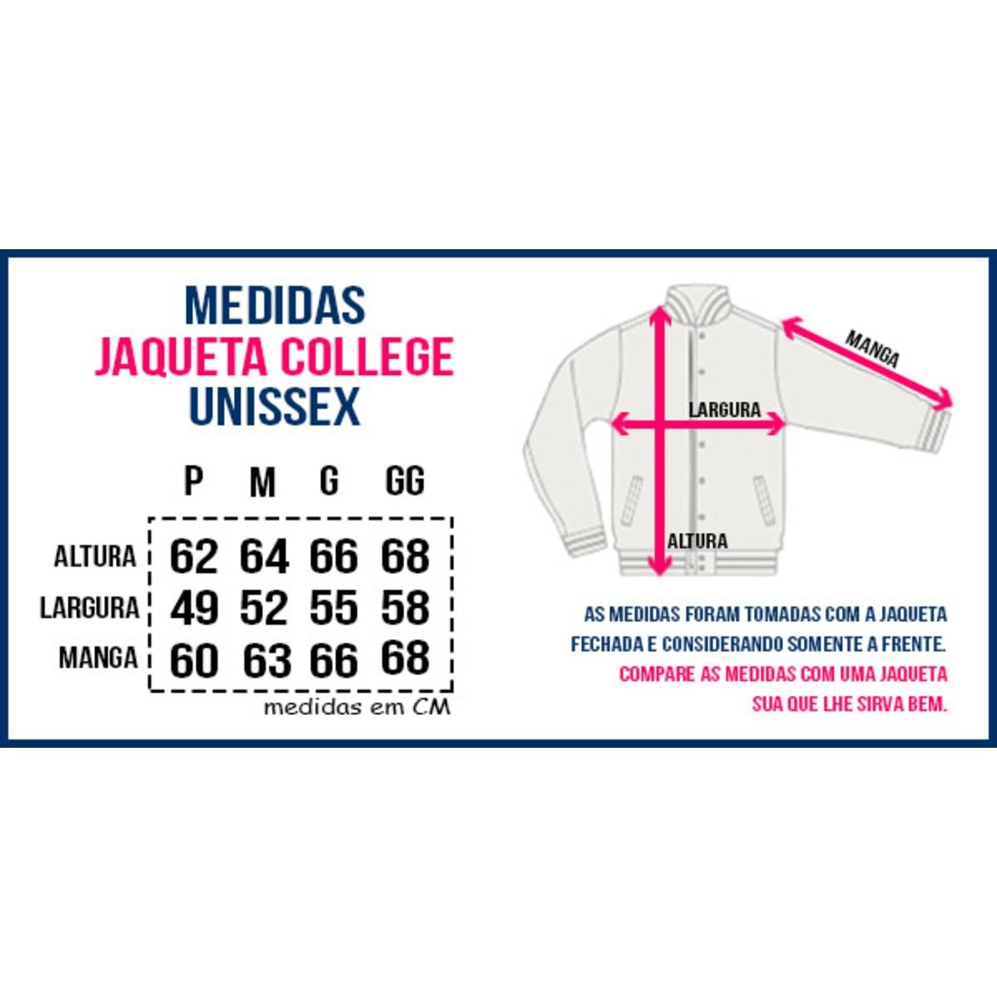 Jaqueta Criativa Urbana College Americana Letra A - Preto - Compre ... d72d2e112d1ad