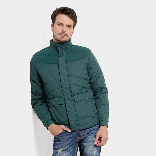 Jaqueta Fila Pad Fleece Masculina - Verde