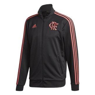 Jaqueta Flamengo Adidas 3-Stripes Track Top Masculina