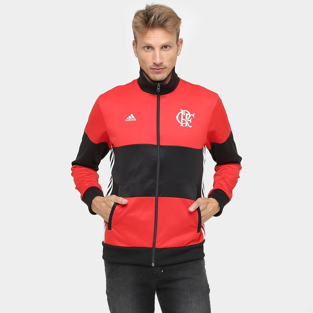 02273f3eb8107 Jaqueta Flamengo Adidas 3S Masculina - Compre Agora