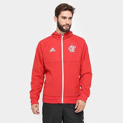 f9f57224878f6 A Jaqueta Flamengo Adidas Viagem Masculina complementa o visual do torcedor  menguista com o todo o