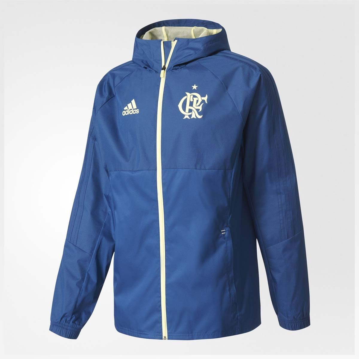 Jaqueta Flamengo Chuva CR Adidas - Compre Agora  b942ff8acf789