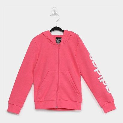 Jaqueta Infantil Adidas Capuz Yg e Lin Fz Hd Feminina