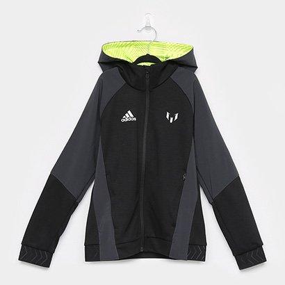 Jaqueta Infantil Adidas Fz Hoodie Yb Masculina