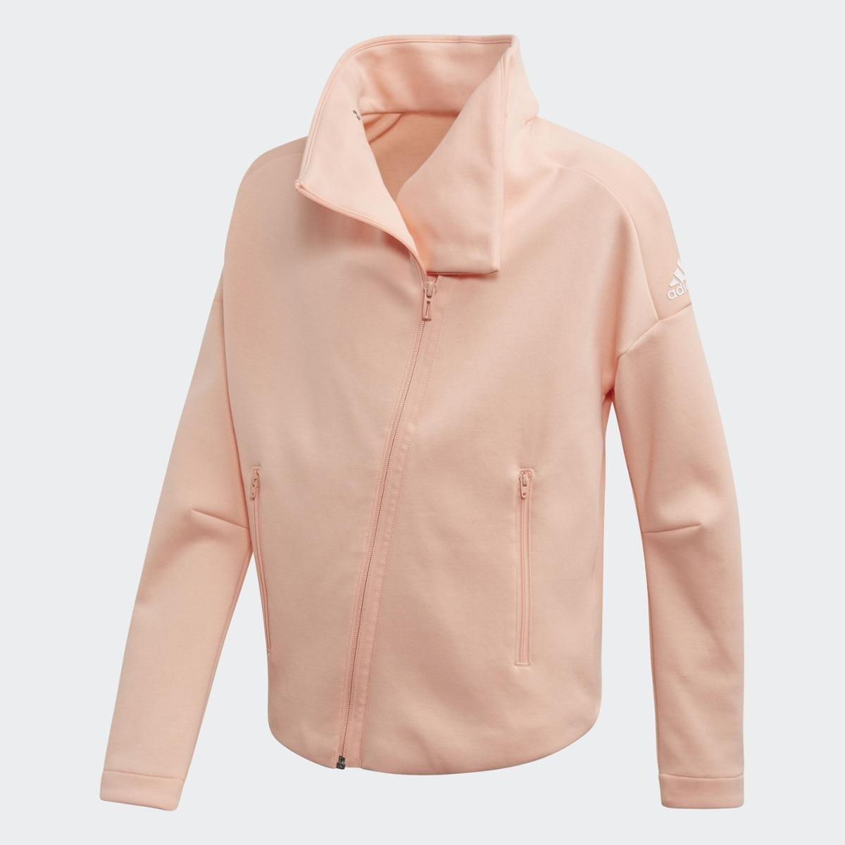 jaqueta adidas feminina rosa