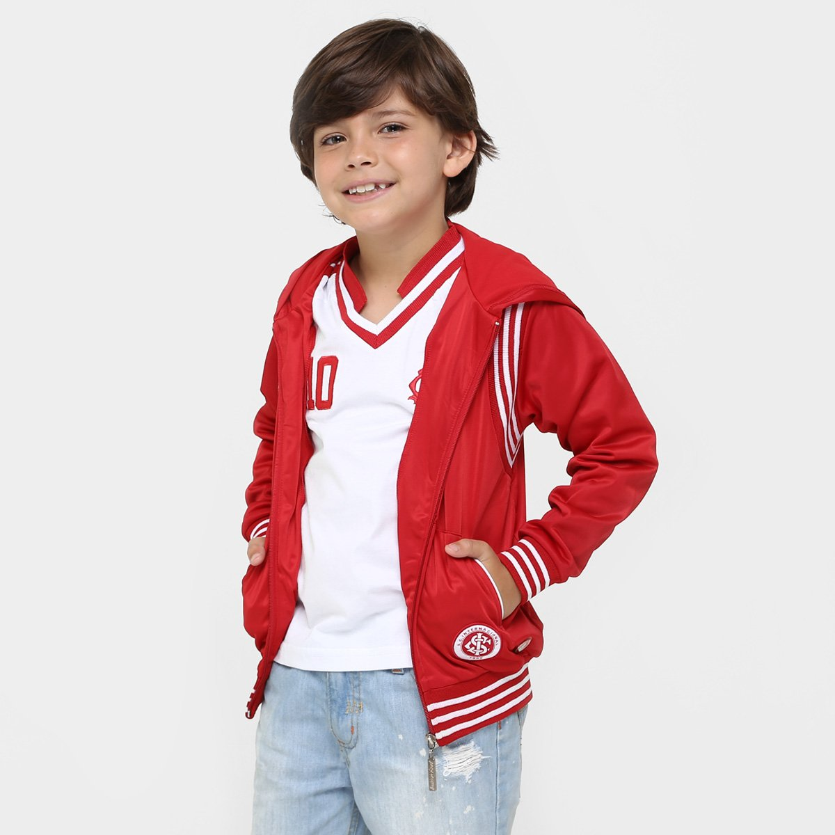 4396416ee5cde Jaqueta Internacional Infantil Trilobal 9 - Compre Agora