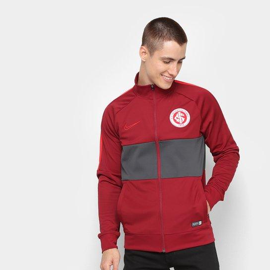 Jaqueta Internacional Nike Dry Academy Masculina - Branco+Vermelho