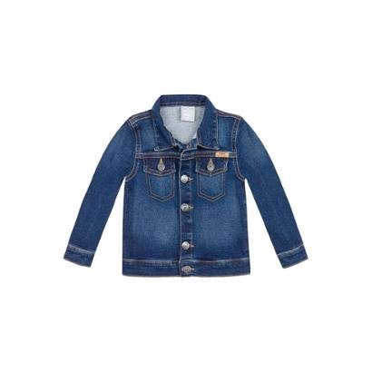 Jaqueta Jeans Infantil Masculino Play Jeans Hering Kids